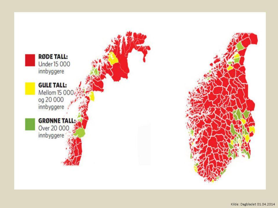 Kilde: Dagbladet 01.04.2014