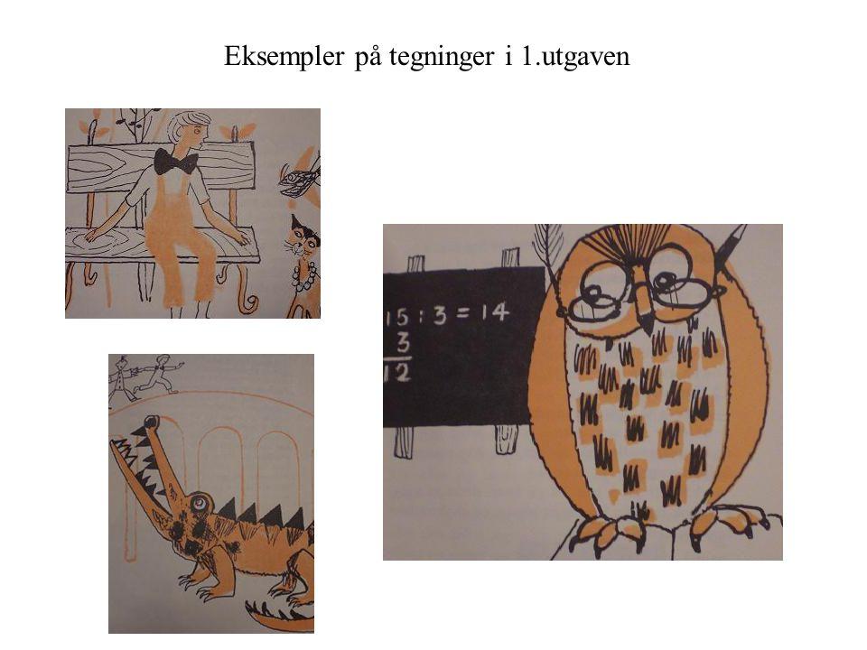 Eksempler på tegninger i 1.utgaven