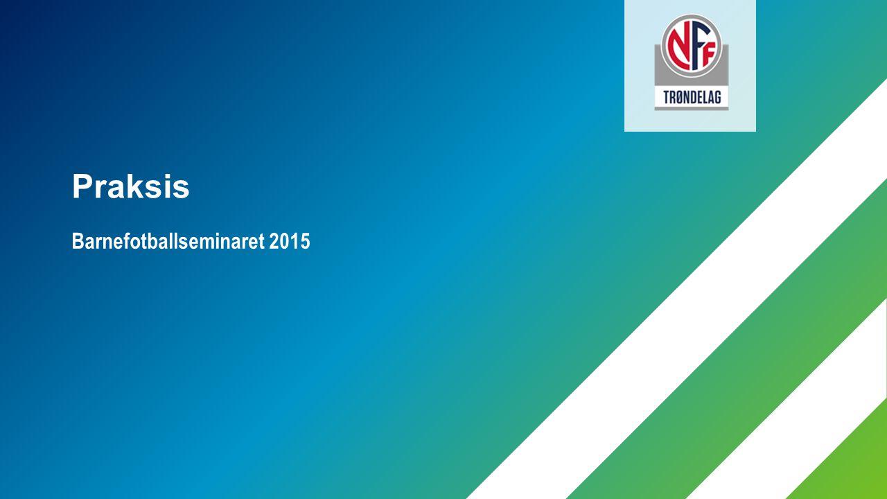Barnefotballseminaret 2015 Praksis