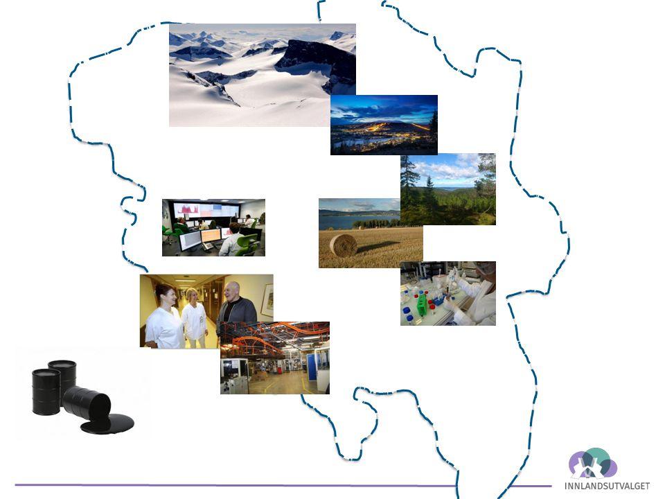 - Matproduksjon Økt produksjon i størst mulig grad basert på norske arealressurser.