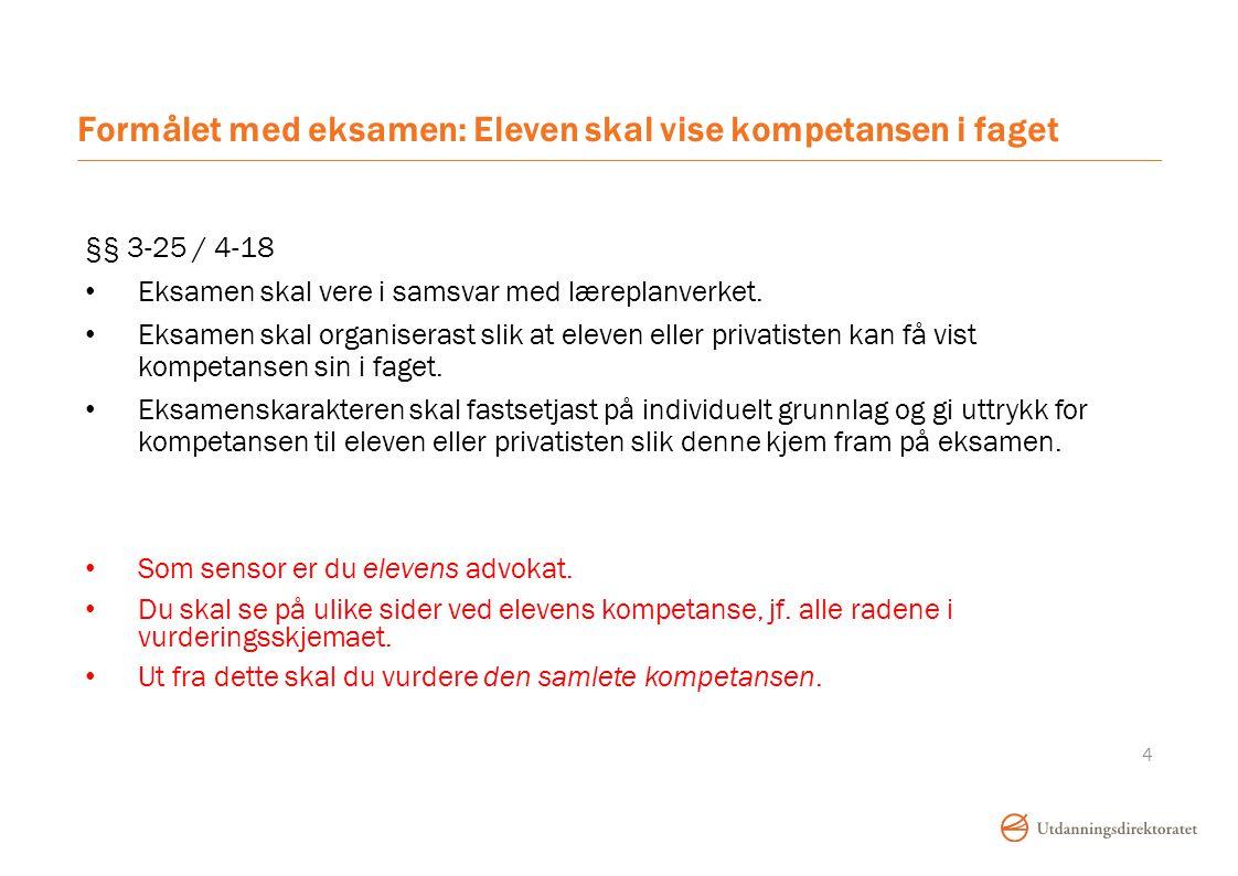 Er dere enige om hva «norskfaglig kompetanse» er.