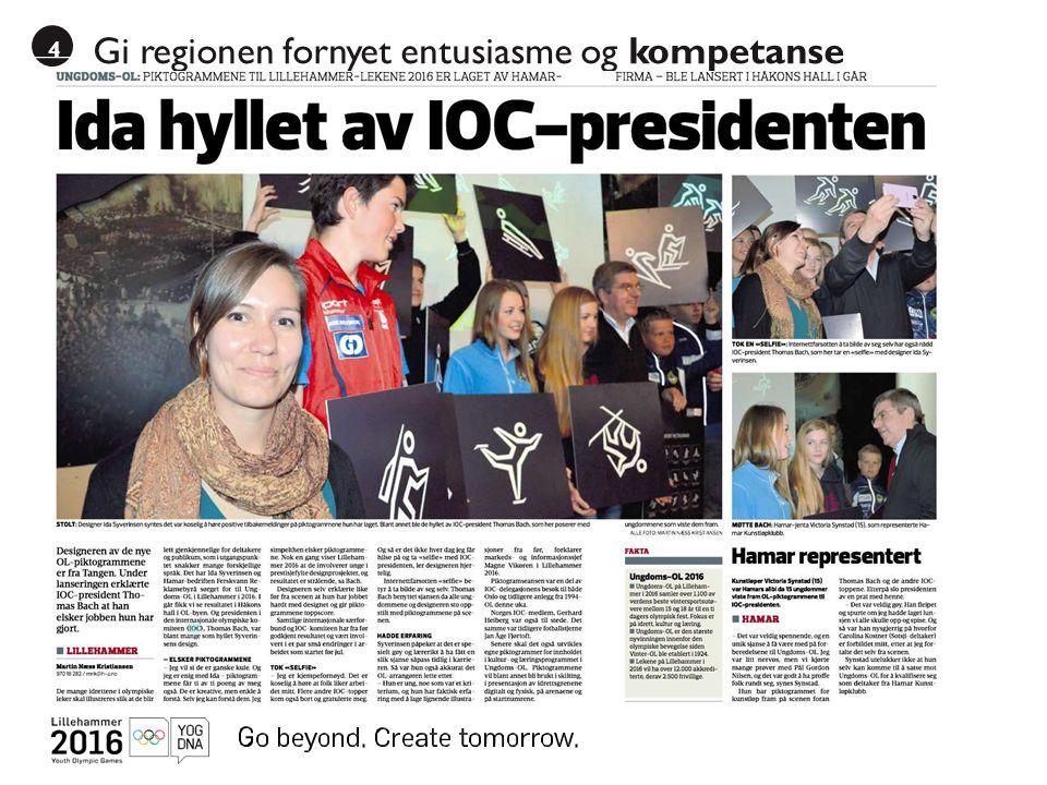 4 Gi regionen fornyet entusiasme og kompetanse