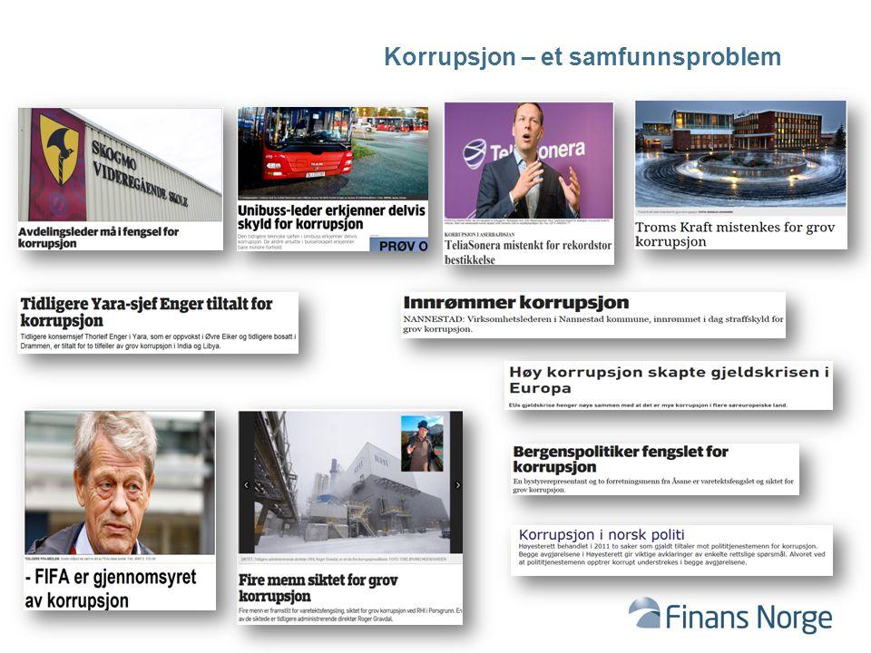 Korrupsjon – et samfunnsproblem