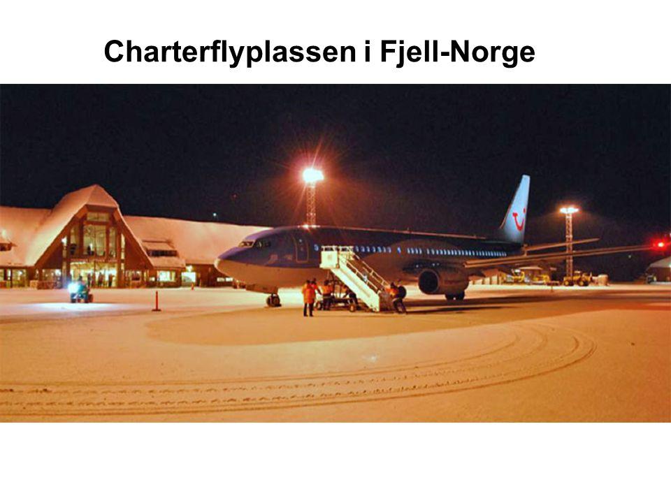 Charterflyplassen i Fjell-Norge