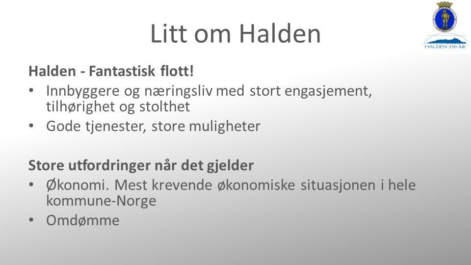 Litt om Halden Halden - Fantastisk flott.
