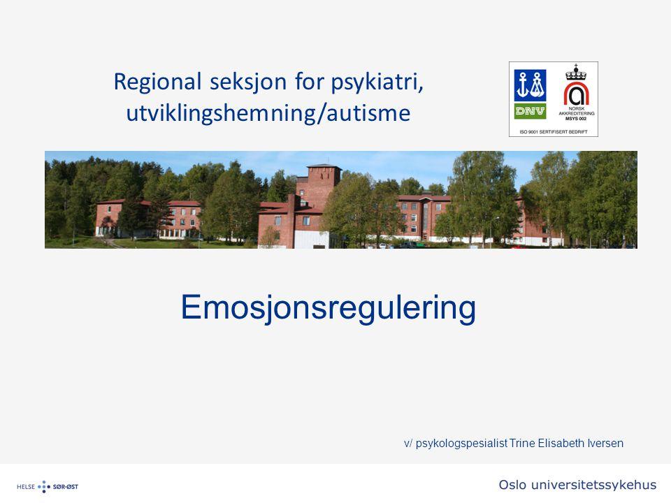 Modell for å forstå emosjonell utvikling og emosjonsregulering Siegels Hånd 3 hjerner; overlevelseshjernen, følelseshjernen og tenkehjernen