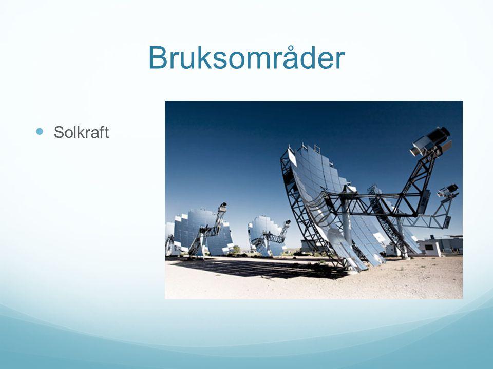 Bruksområder Solkraft
