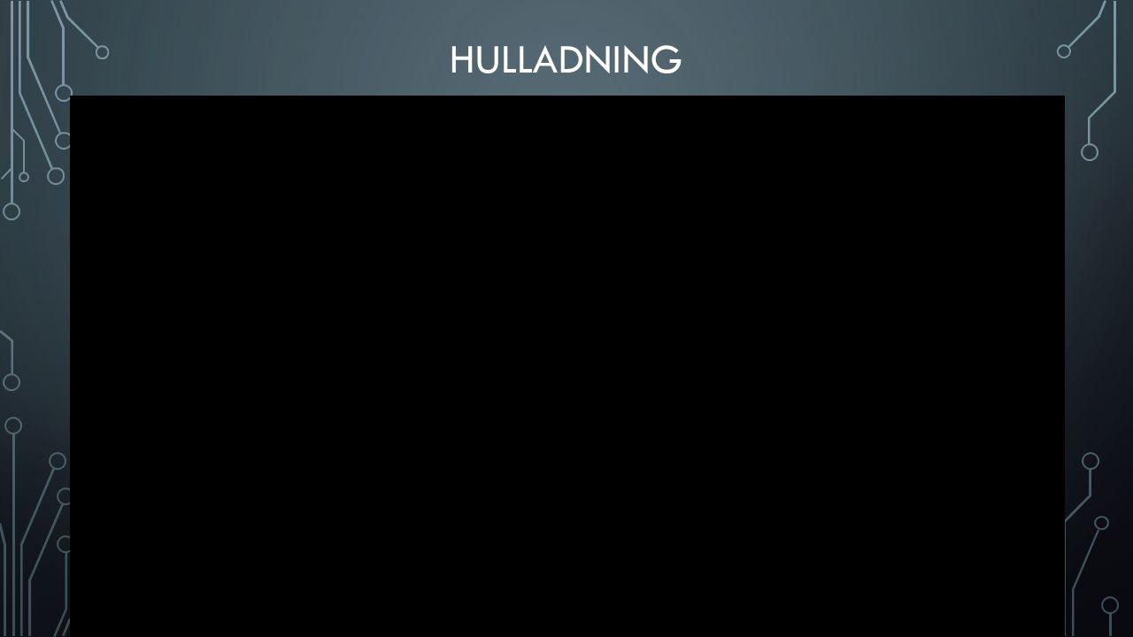 HULLADNING