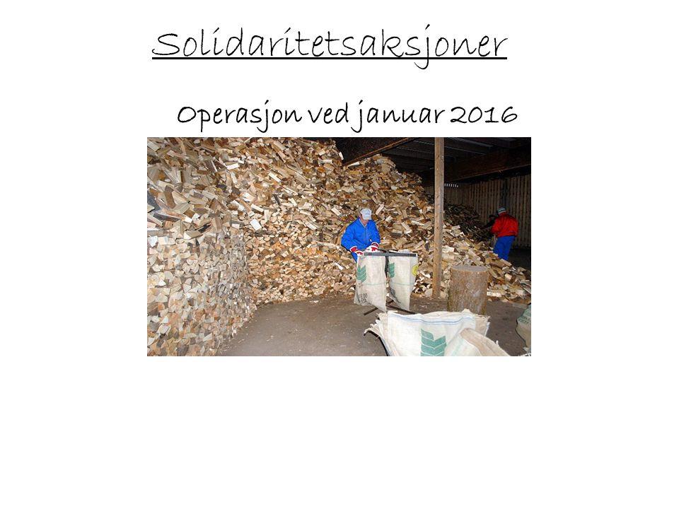 Solidaritetsaksjoner Operasjon ved januar 2016 - vi trenger biler