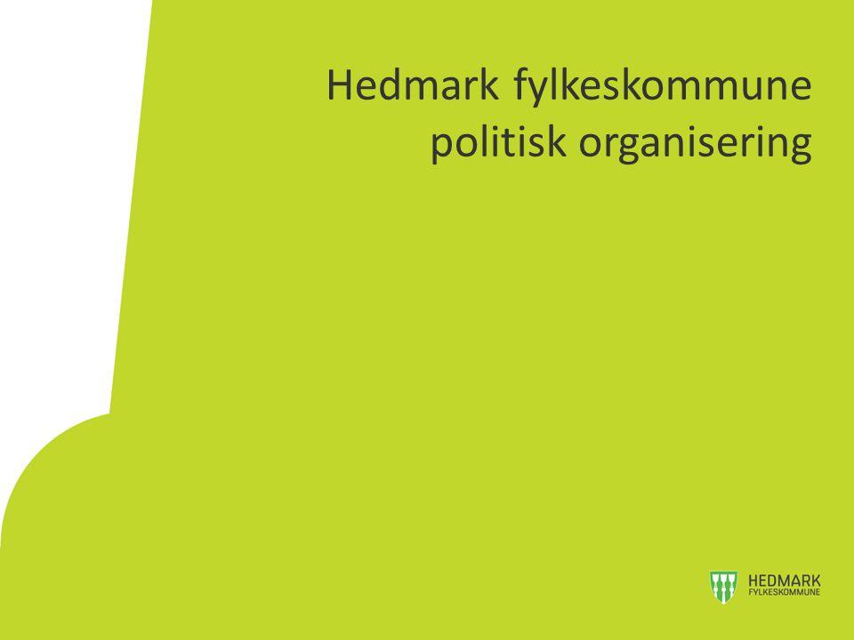 Hedmark fylkeskommune politisk organisering