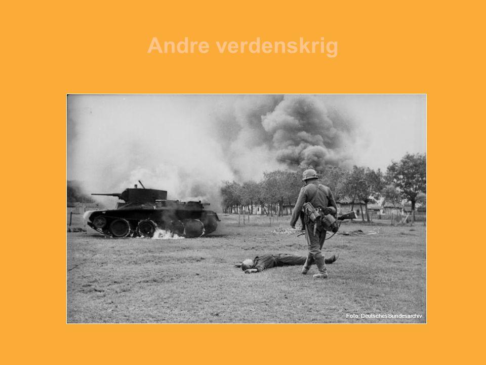 Andre verdenskrig Foto: Deutsches Bundesarchiv
