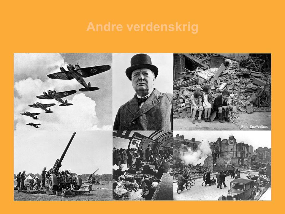 Andre verdenskrig Foto: Sue Wallace