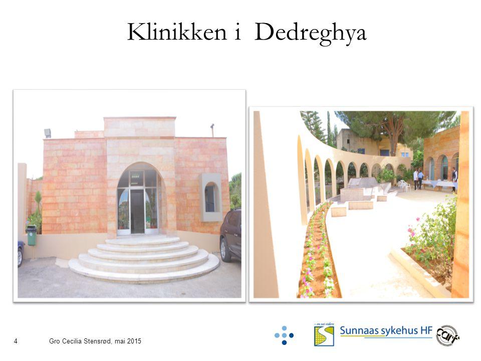 4 Klinikken i Dedreghya Gro Cecilia Stensrød, mai 2015
