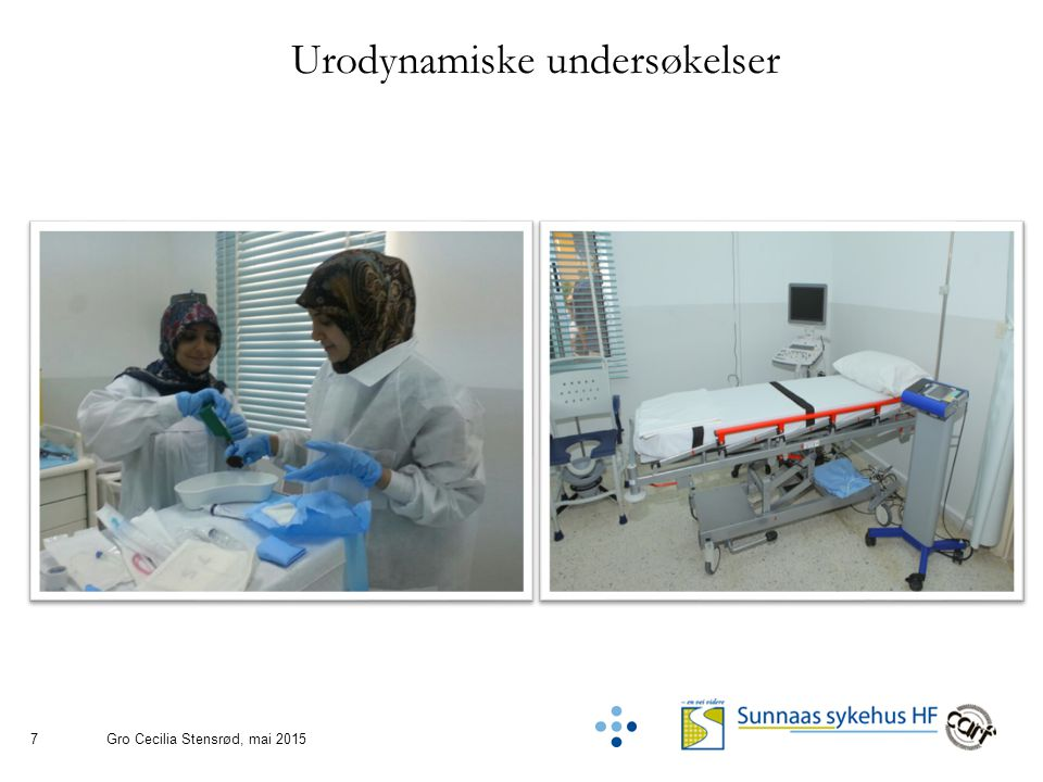 7 Urodynamiske undersøkelser Gro Cecilia Stensrød, mai 2015
