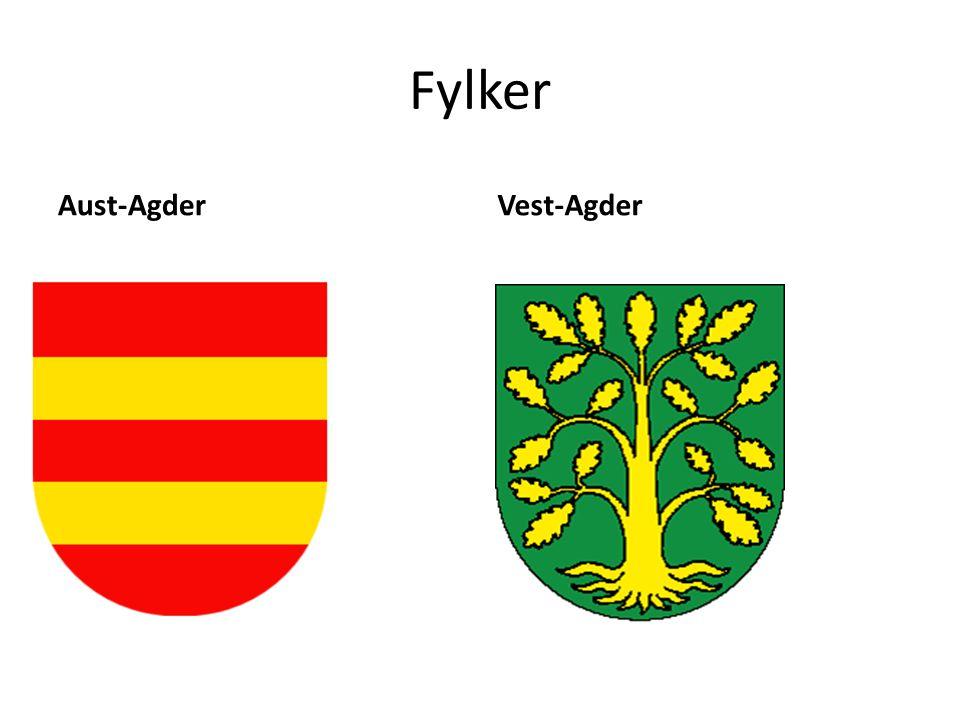 Fylker Aust-AgderVest-Agder