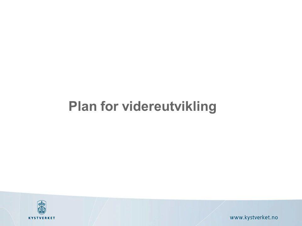 Plan for videreutvikling