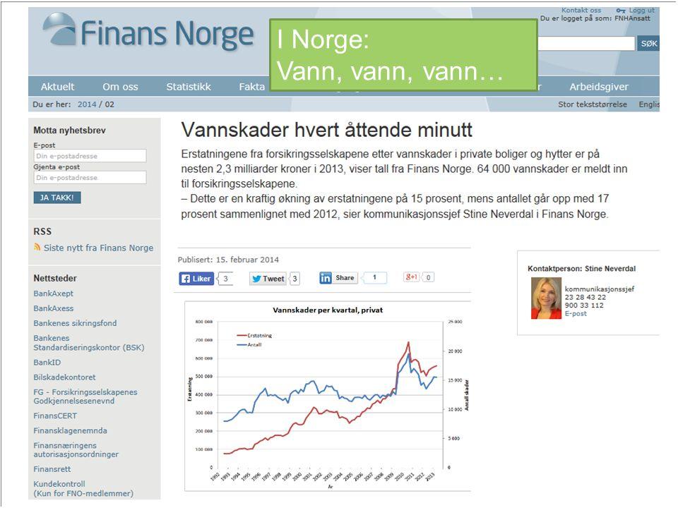29.10.201410 I Norge: Vann, vann, vann…
