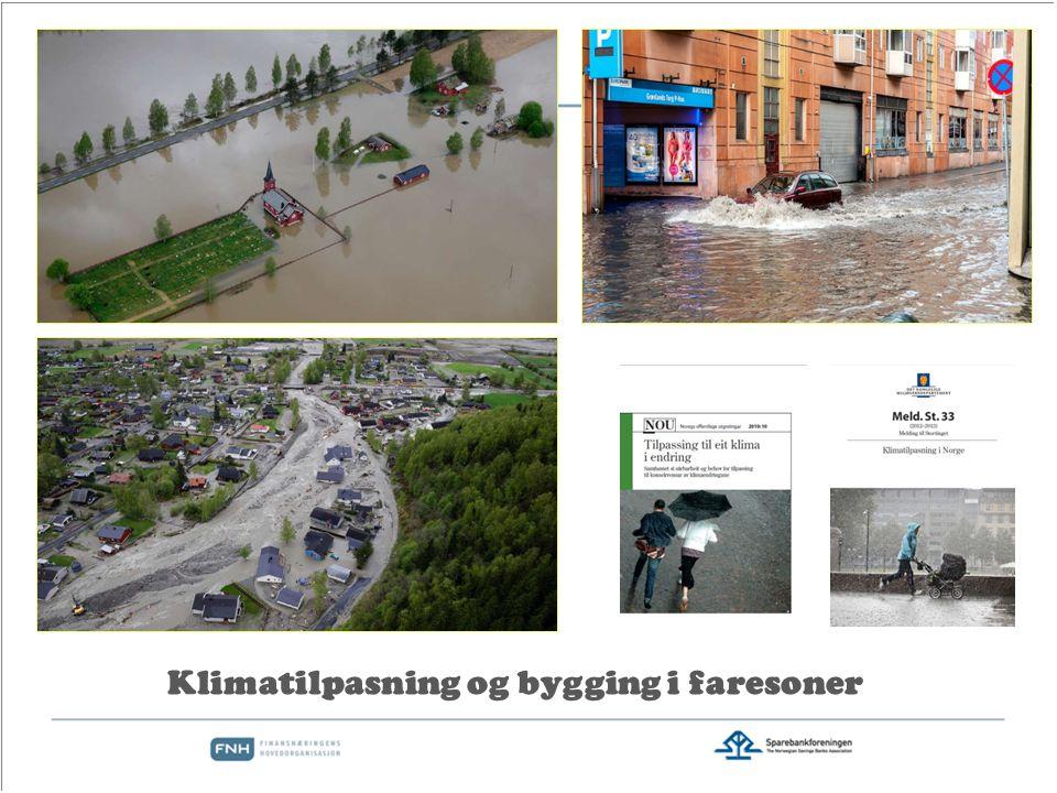 Klimatilpasning og bygging i faresoner