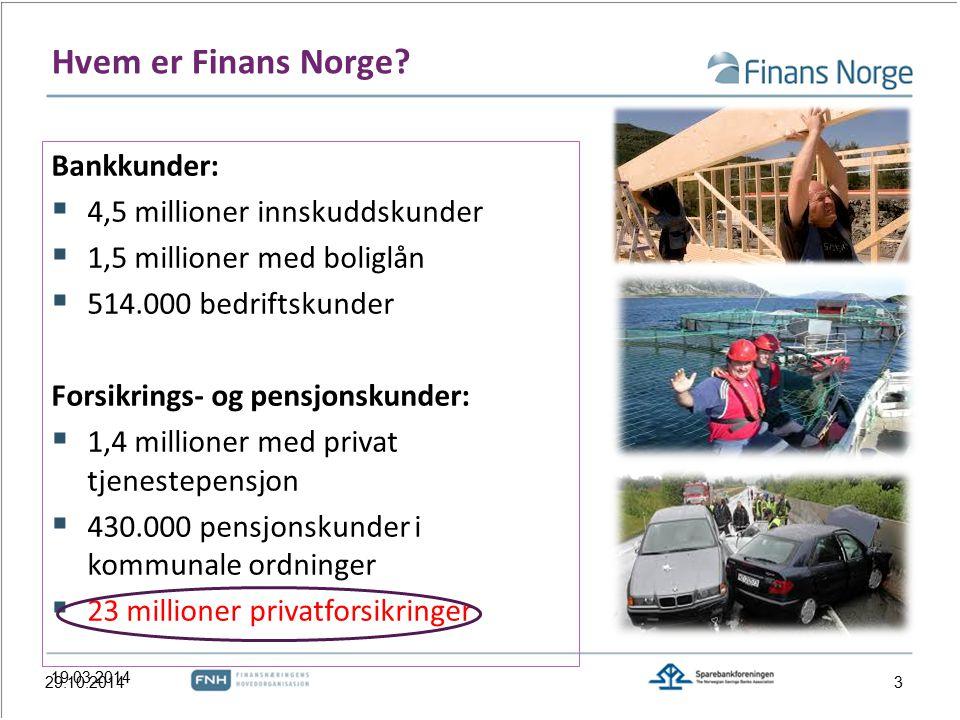 Hvem er Finans Norge.
