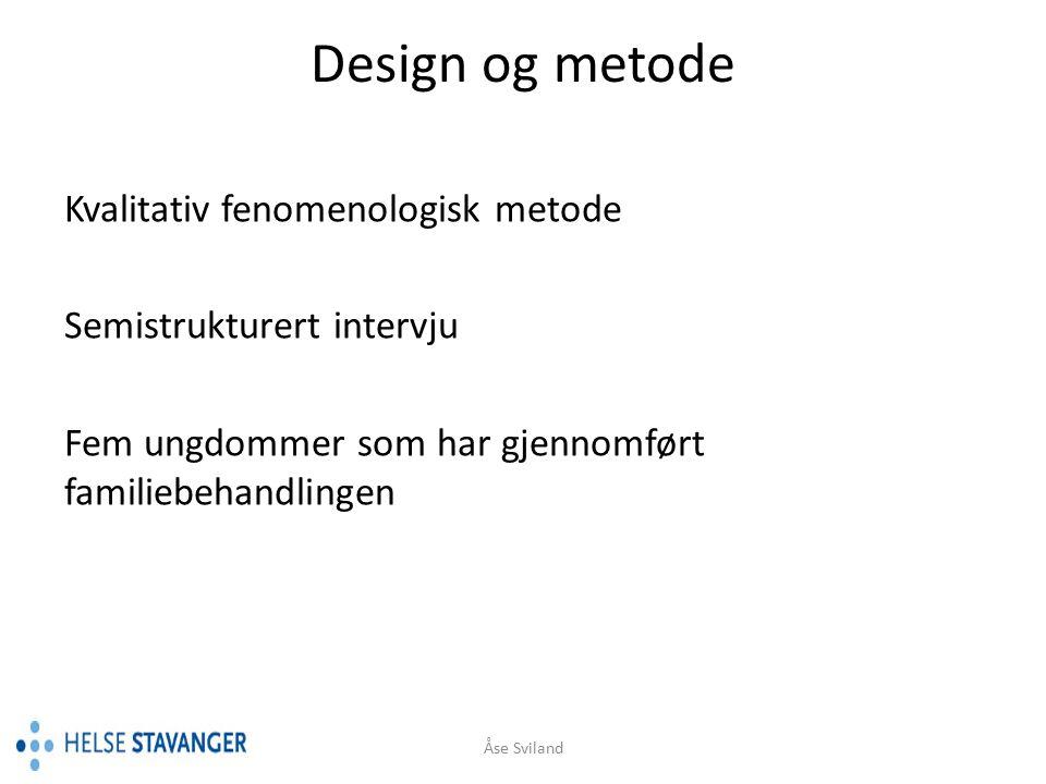 Rekruttert fra inkluderte pasienter i den pågående POP- studien fra Helse Stavanger, HF og Helse Fonna, HF.