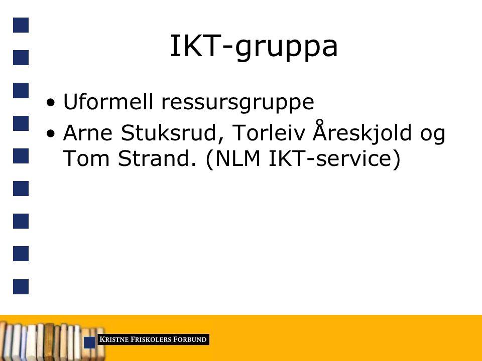 KFFs rolle Konferanse –Møteplass –Viktige foredrag Koordinator –Være orientert om behov, ha kunnskap om dem som kan levere løsninger –Ikke innkjøp, ikke drifting etc