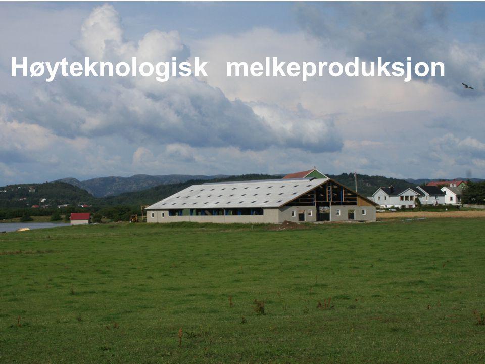 Høyteknologisk melkeproduksjon