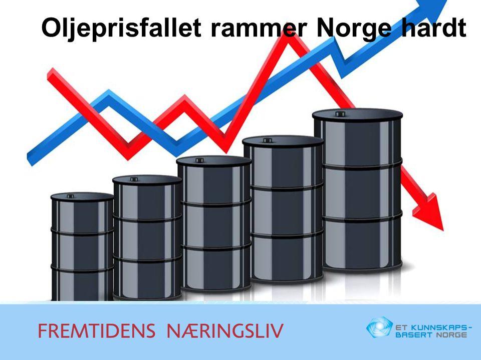 Oljeprisfallet rammer Norge hardt