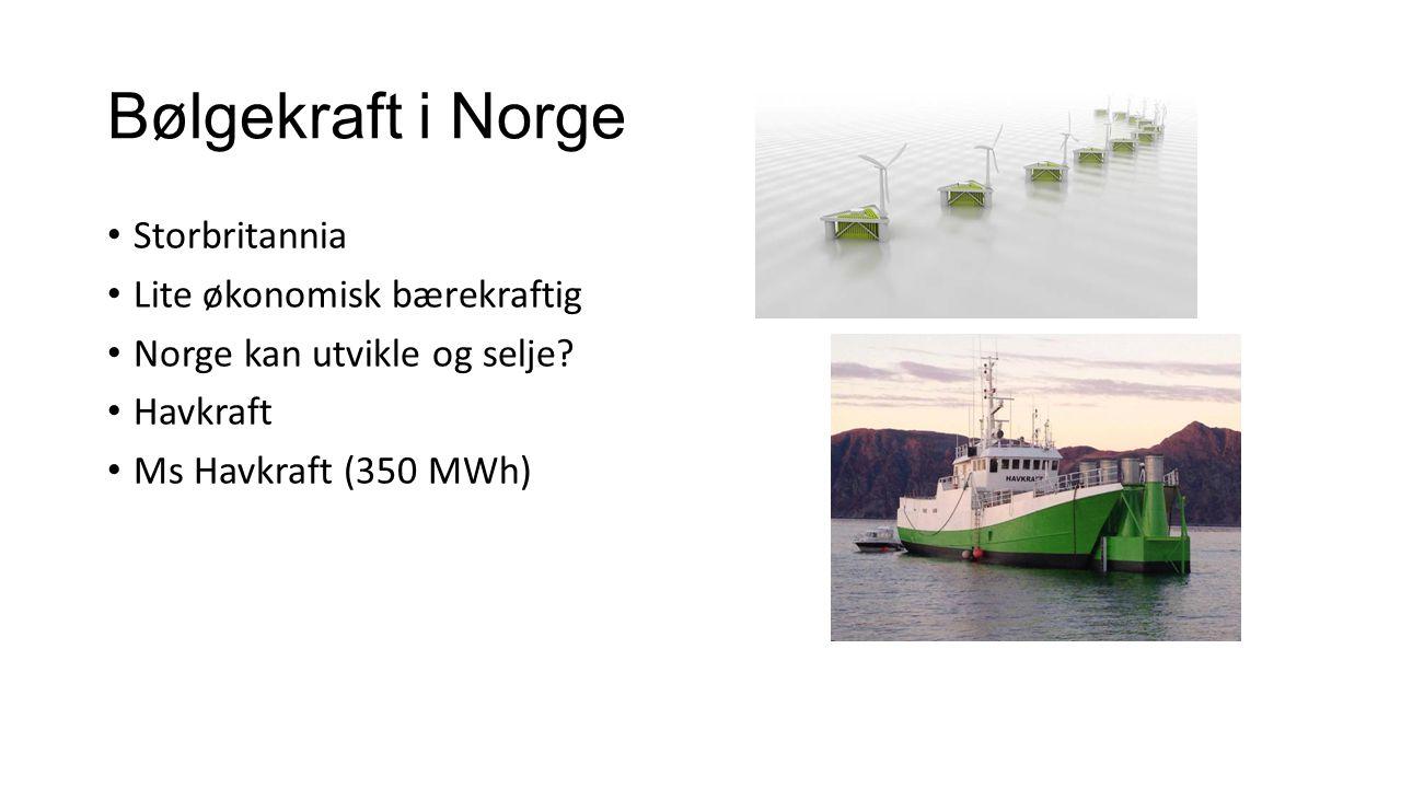 Bølge foil 20% av drivstoffet kan bli spart 3 m bølger Relevant for Forsvaret.