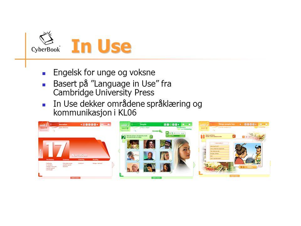 3 nivå 3 kurs basert på det europeiske rammeverket for språk: Elementary A1 Pre-intermediate A2 Intermediate B1 Hvert kurs tilsvarer ca.