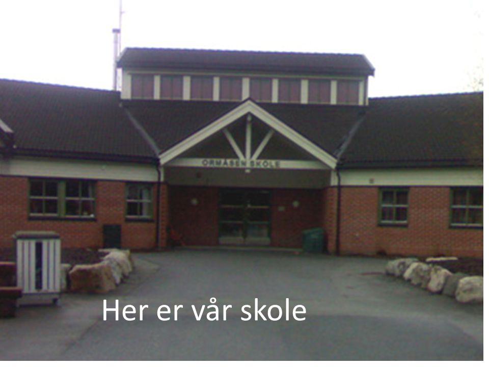 Her er vår skole