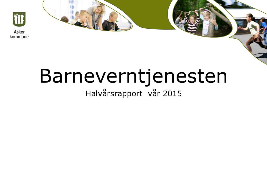 Barneverntjenesten Halvårsrapport vår 2015