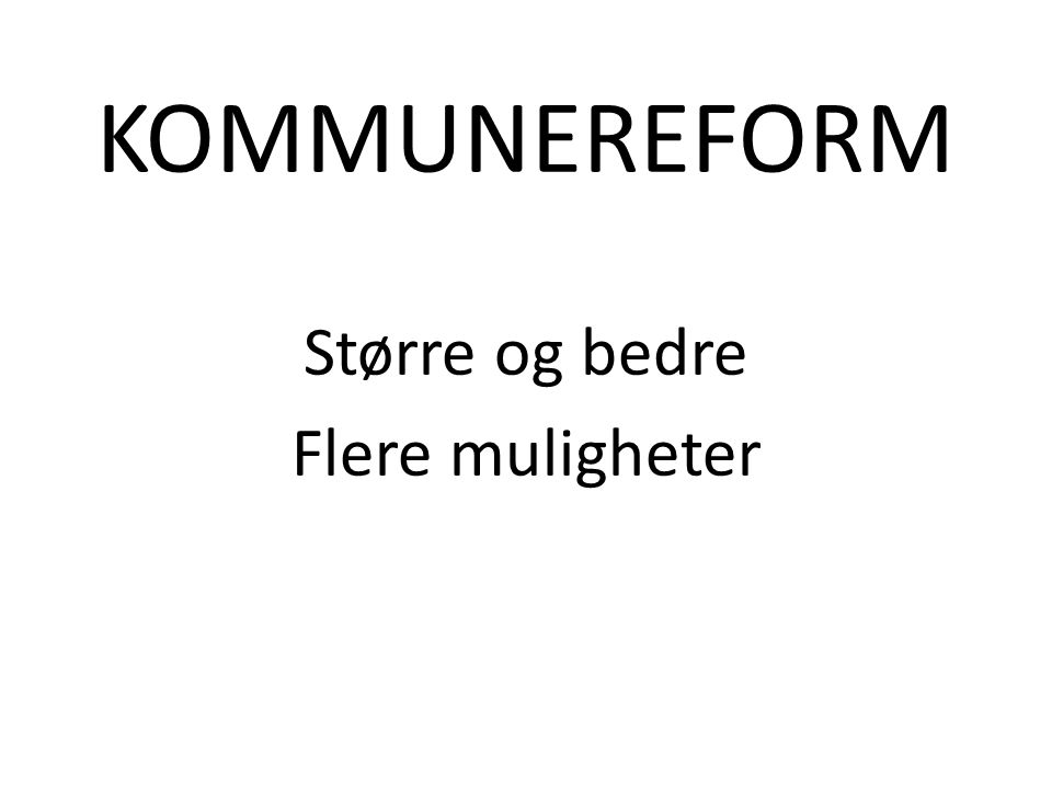 VI TENKER: Vi ønsker å slå oss sammen med Drammen, Kongsberg og Nedre Eiker.