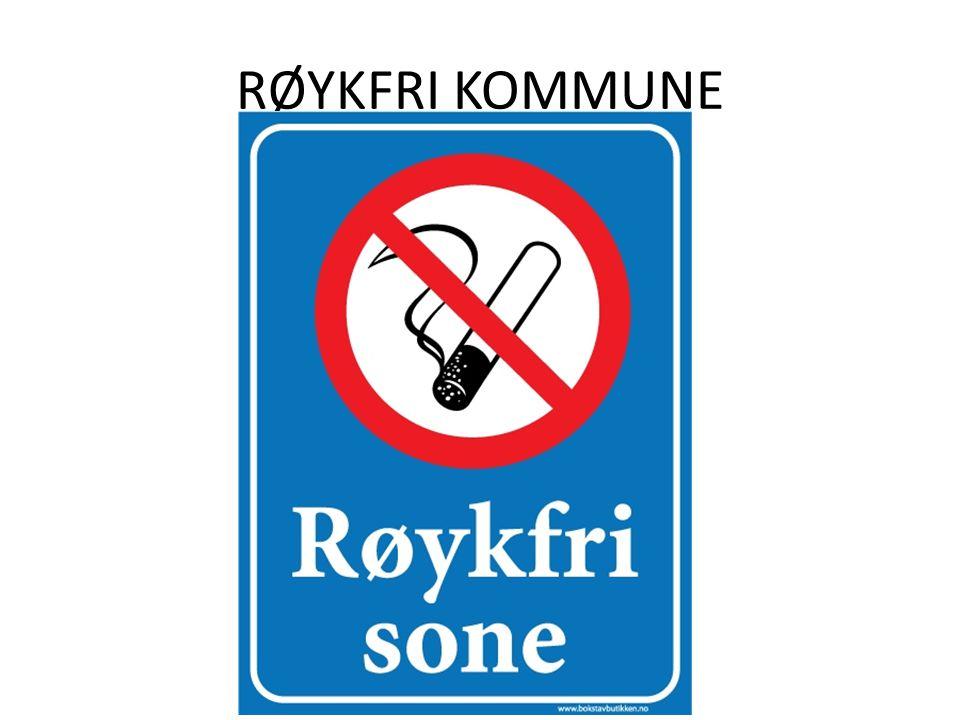 RØYKFRI KOMMUNE
