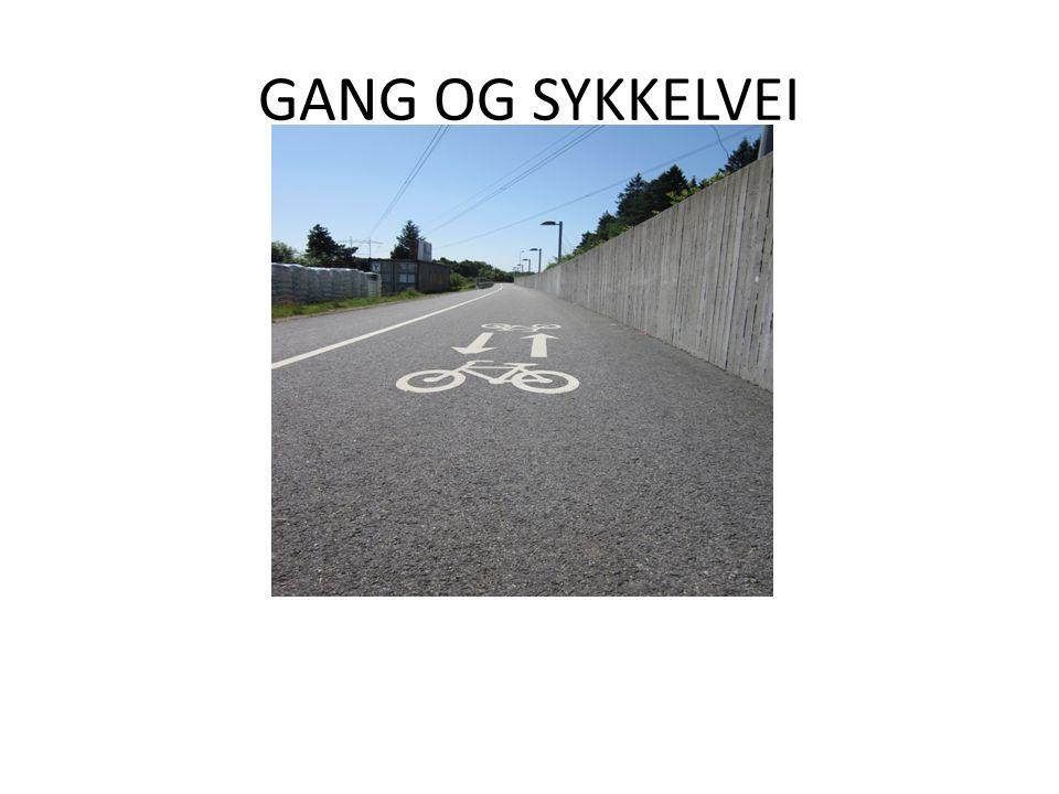 GANG OG SYKKELVEI