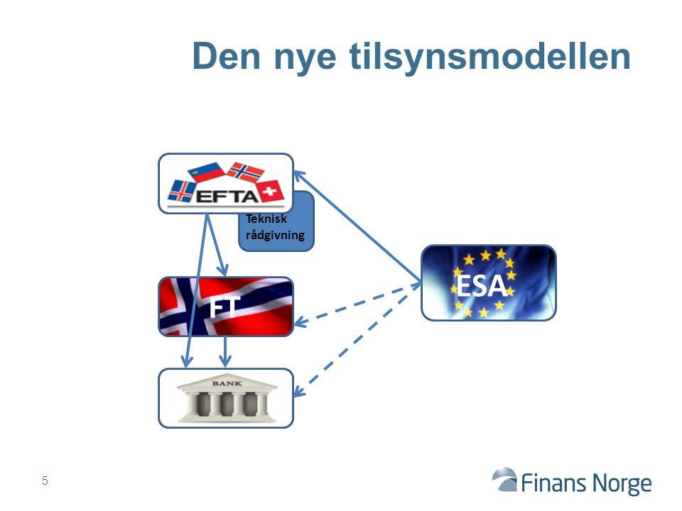6 … i et endret miljø FT ESA Teknisk rådgivning
