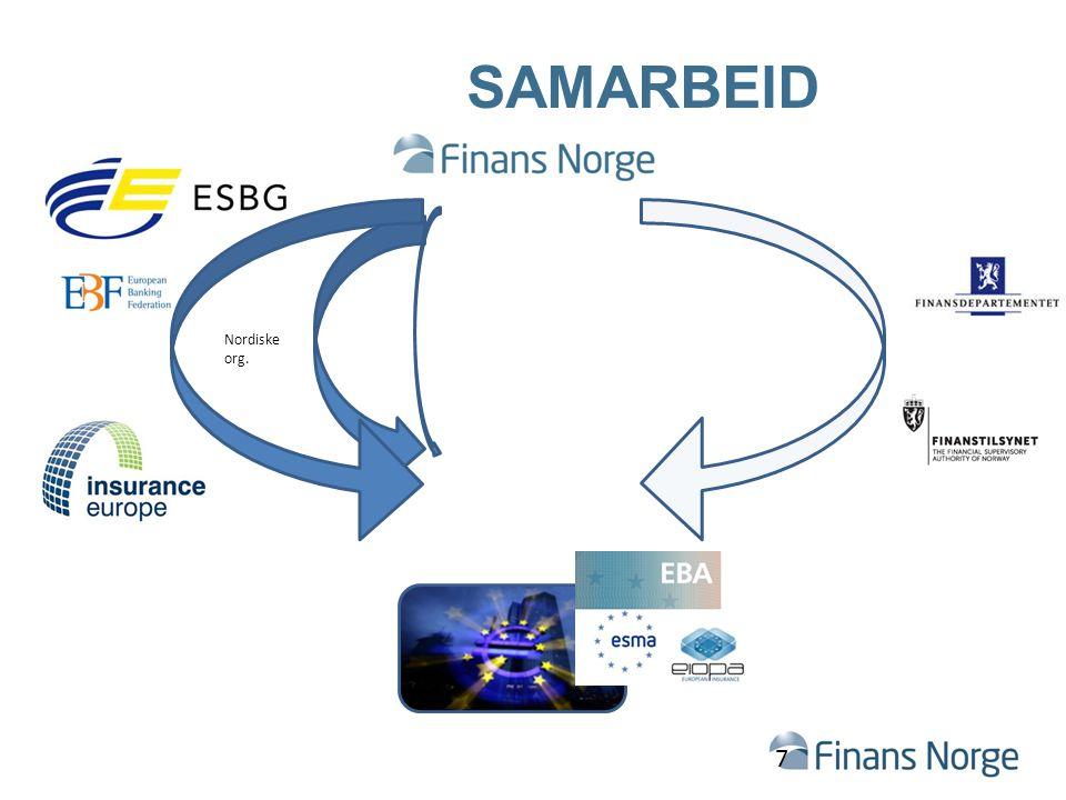 SAMARBEID 7 Nordiske org.