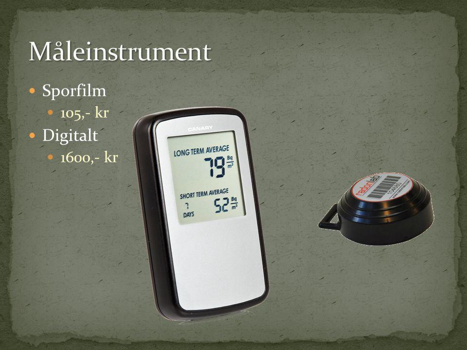 Sporfilm 105,- kr Digitalt 1600,- kr