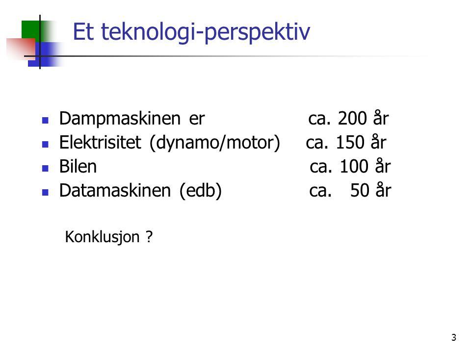 4 Hva er informasjonsteknologi 1) Mikroelektronikk Moores lov.