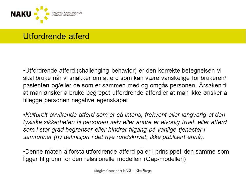 3.Nettbasert opplæringsmodul rådgiver/ nestleder NAKU - Kim Berge Nærmere om innhold: a.