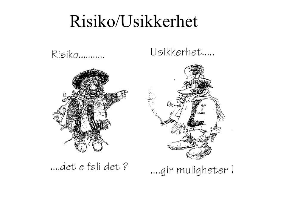 Kostnadsestimat - grunnlagsdata Ingemund Jordanger, 2001.03.11 Ikke autentiske data