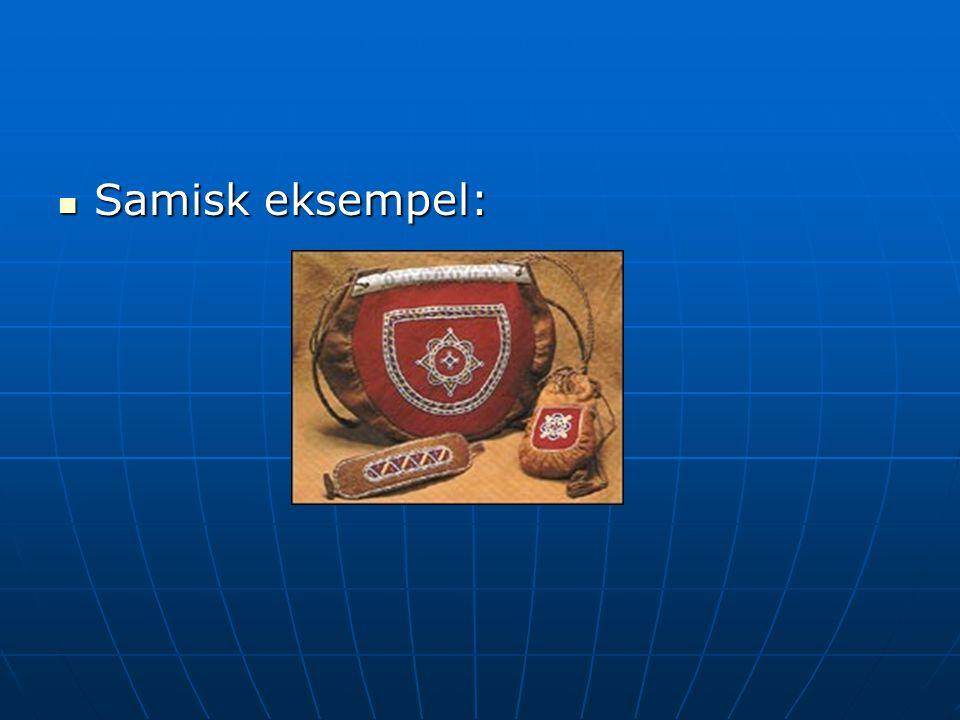 Samisk eksempel: Samisk eksempel:
