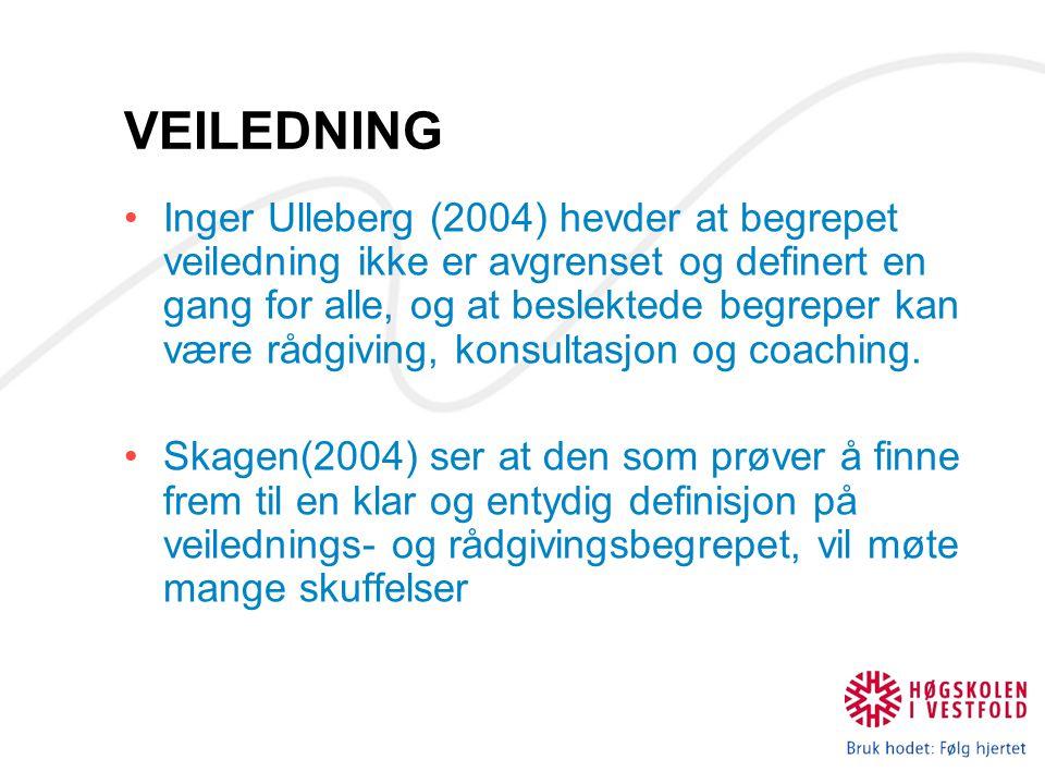 RÅDGIVERROLLEN Liten tradisjon for Karriererådgiving i Norge Rådgiverne som poteten skal brukes til alt .