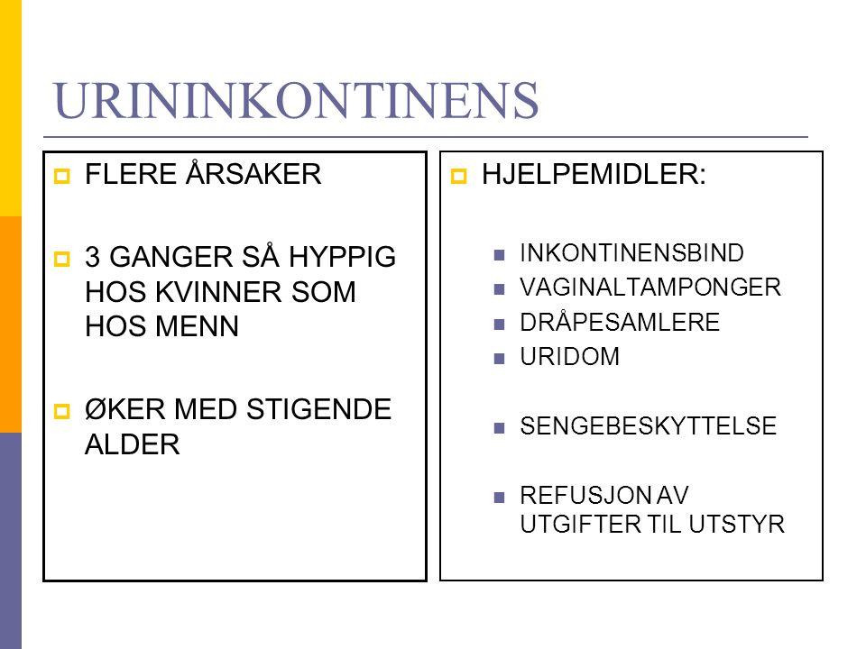SYKEPLEIER OBSERVERER URIN  Normal urin Konsentrert urin Blodig urin LUKT