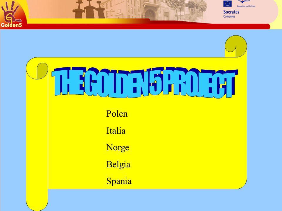 Polen Italia Norge Belgia Spania