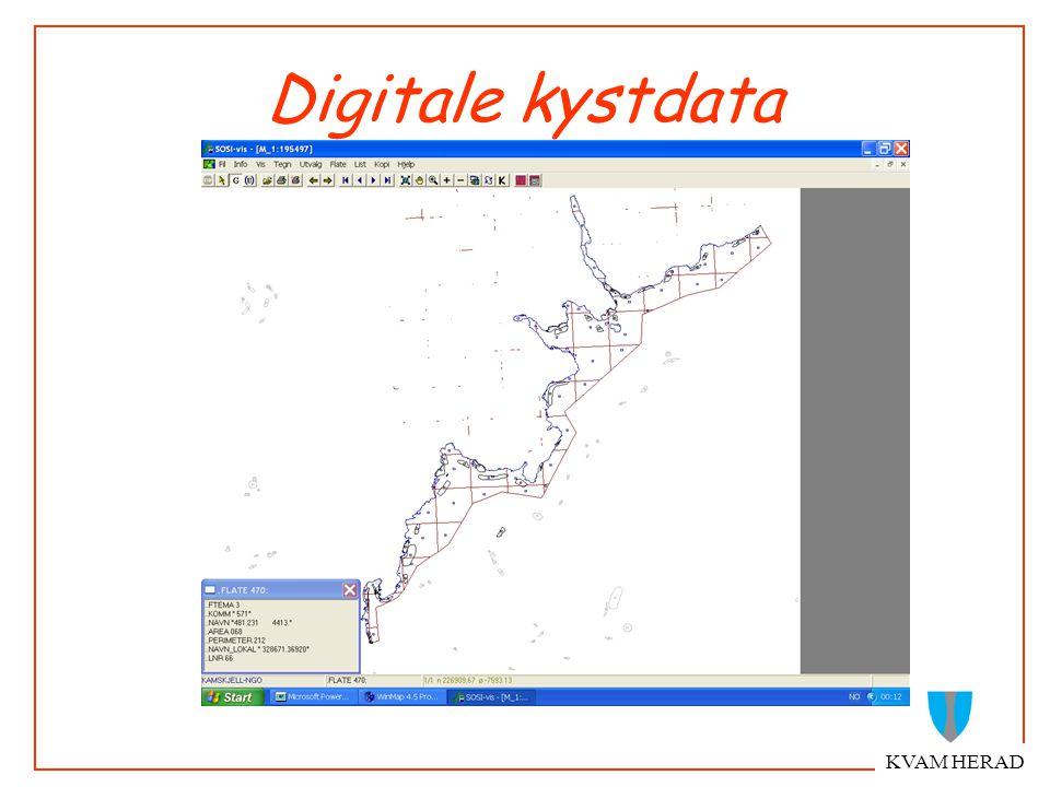 KVAM HERAD Digitale kystdata