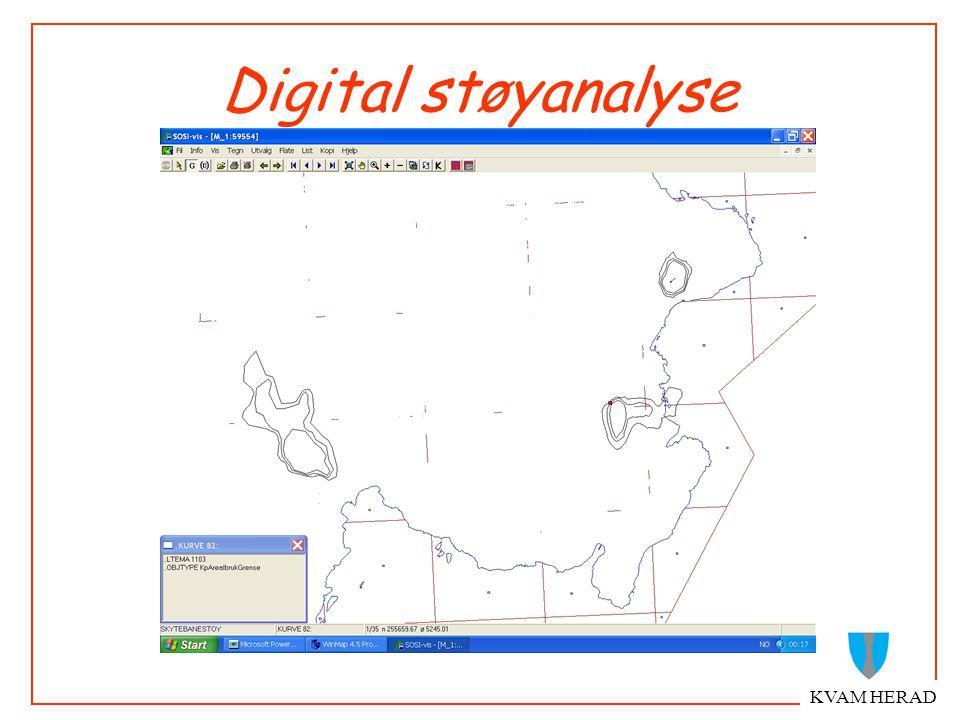 KVAM HERAD Digital støyanalyse