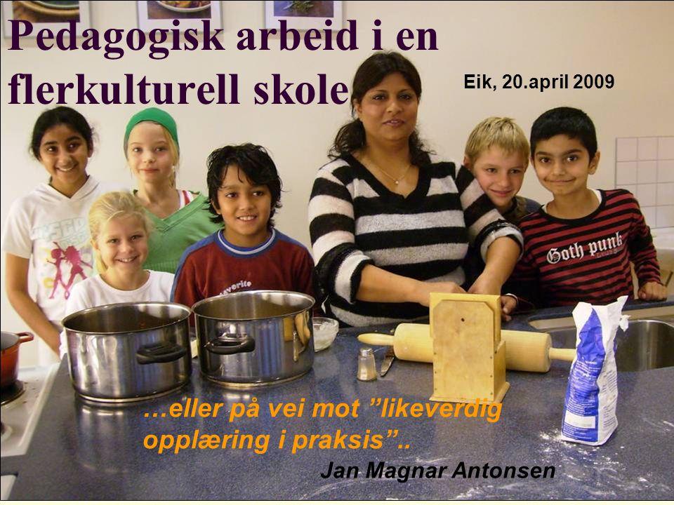 Refleksjonsspørsmål: Representerer jeg/vi av og til det første varige møtet med, eller relasjonen til det norske samfunnet .