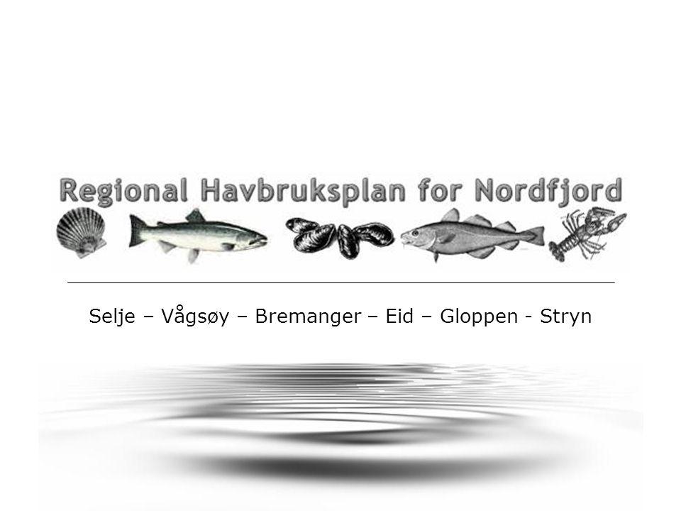 Selje – Vågsøy – Bremanger – Eid – Gloppen - Stryn