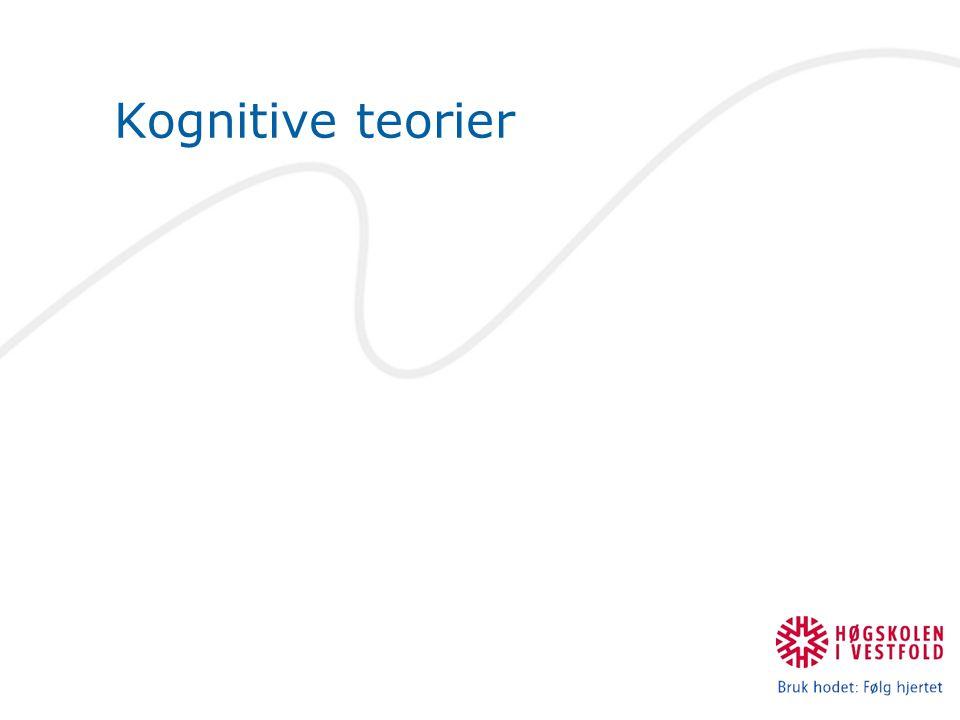 Kognitive teorier