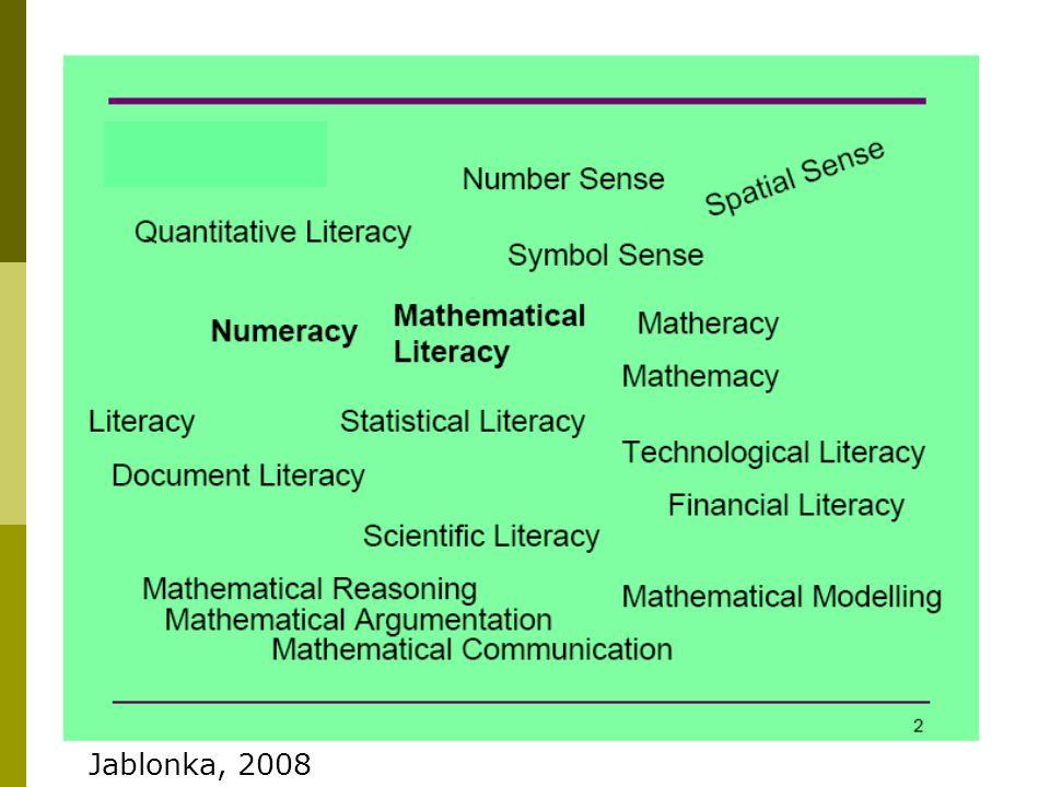 Hva er matemasitet Jablonka, 2008